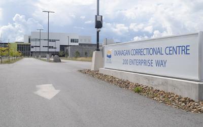 Okanagan Correctional Centre entrance