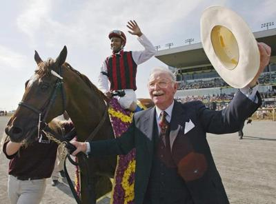 Veteran horse breeder/owner Gus Schickedanz passes away at the age of 90
