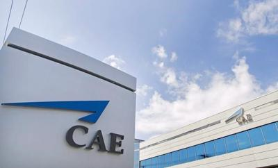 CAE Inc. reports Q1 profit down from year ago, increases dividend as stock drops