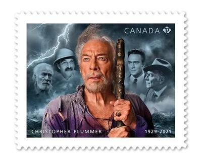 Canada Post reveals Christopher Plummer stamp featuring his iconic roles
