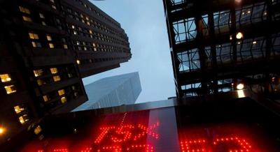 TSX nears three-week high after financials gets lift from housing report