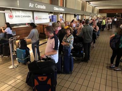 Dozens injured aboard Air Canada flight after plane hits turbulence