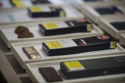 Cannabis edibles to go on sale digitally this morning via Ontario's online store