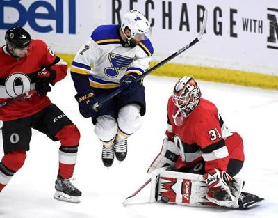 New NHLers help Ottawa Senators knock off St. Louis Blues