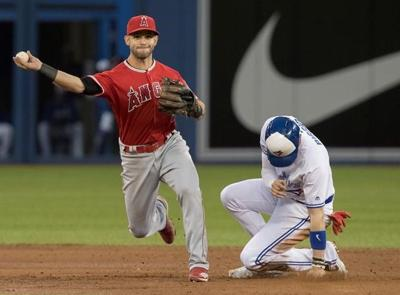 Ohtani hits three-run homer, Trout hits 20th of season as Angels topple Jays