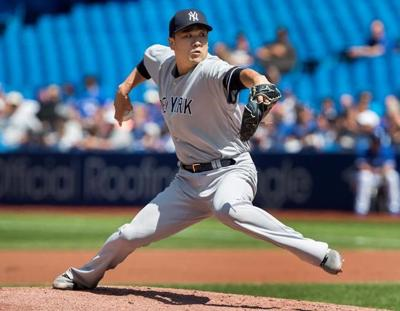Tanaka silences explosive Blue Jays offence as Yankees hold on for 1-0 win