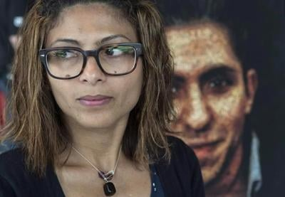 Canadian wife of jailed Saudi blogger says she hasn't heard from him in a month