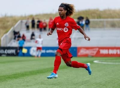 Toronto FC teenage forward Jayden Nelson continues to turn heads with Canada