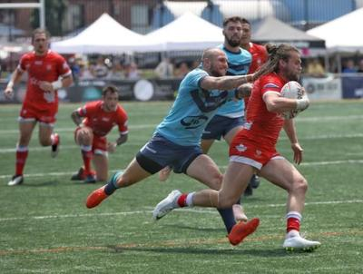 Toronto Wolfpack down Featherstone Rovers for 15th straight rugby league win