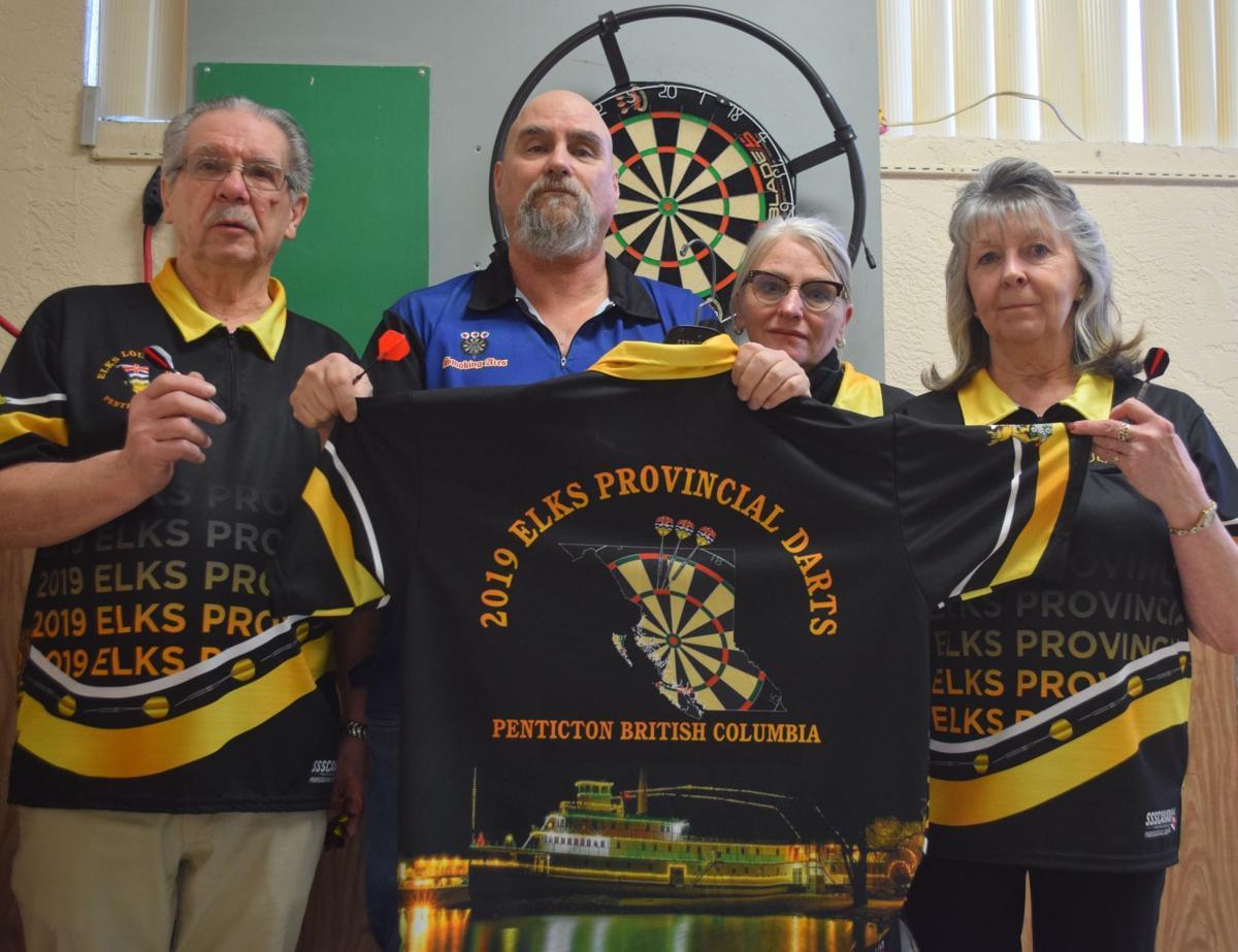 Penticton provincial dart tournament boasts best players