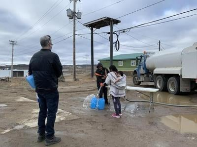 Nunavut declares emergency in Iqaluit, city receives first shipment of potable water