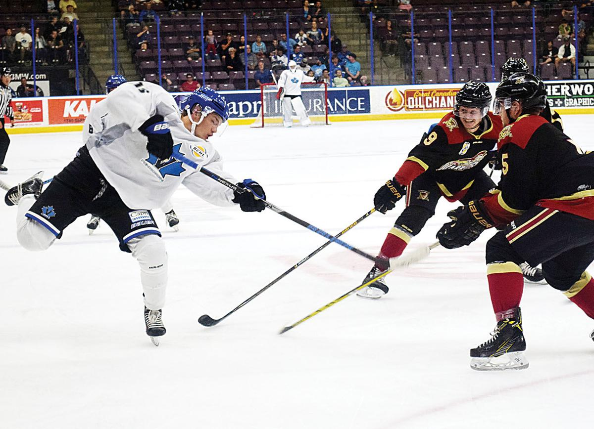 Vees beat Warriors in Nick of time | Local Sports | pentictonherald.ca
