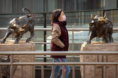 Global stocks fall again on fear of virus impact on economy