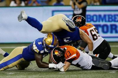 Harris sets record, Nichols leaves with injury as Bombers top Lions