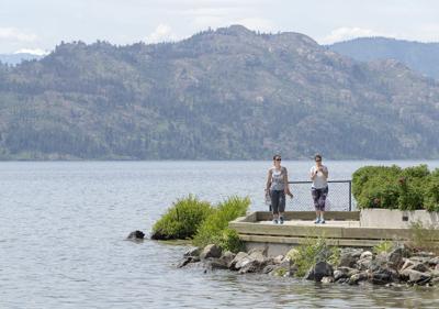 Okanagan Lake rising