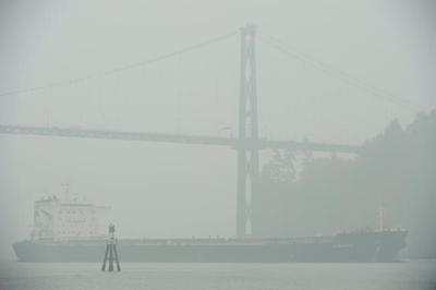 Some parts of B.C. enjoy better air quality but southern regions still affected