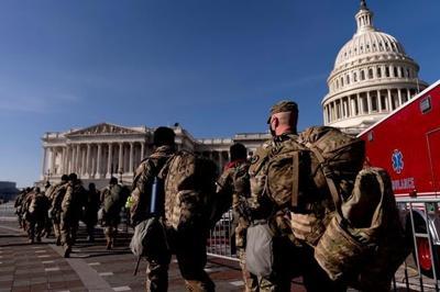 National Guard troops flooding in as Washington locks down