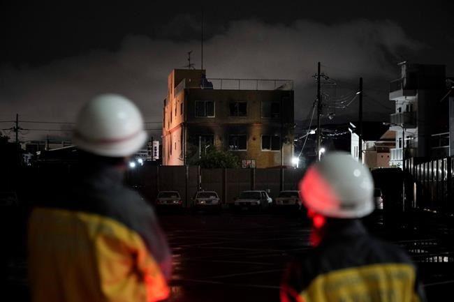 Man shouting 'You die!' kills 33 in Japan anime studio fire