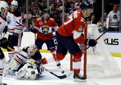 Luongo makes 26 saves as Panthers beat Oilers 4-1