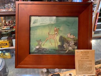 Homeless treasure hunter gets windfall from Bambi art found in Edmonton garbage