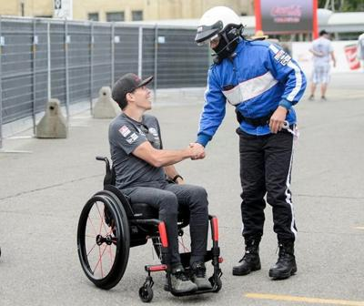 Canada's Wickens hopes to race again; will lead warmup lap of Toronto Indy