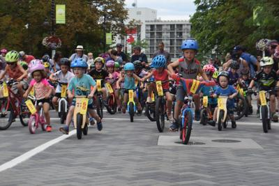 kid bike race