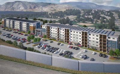 180-unit apartment proposal