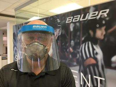 Hockey gear manufacturer to switch from protecting players to medical staff
