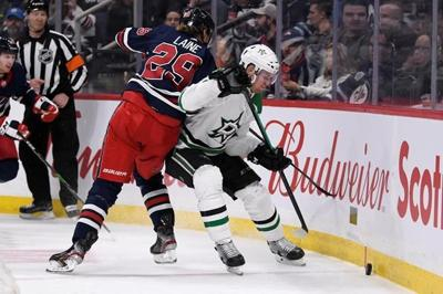 Kyle Connor's goal and two assists helps Jets hand Stars their 4th straight loss