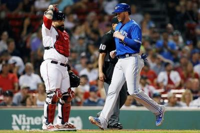 Chavis' grand slam helps Red Sox beat Blue Jays 10-8