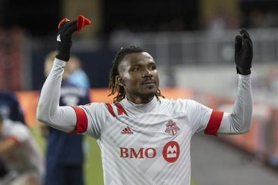 Toronto FC rookie forward Achara thinking of family back home in Nigeria