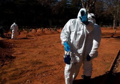 South Africa surpasses the UK in confirmed coronavirus cases