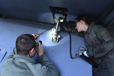 Grissom converts maintenance roles to civilian