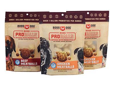 Proballs Freeze Dried Raw Meatball Treats