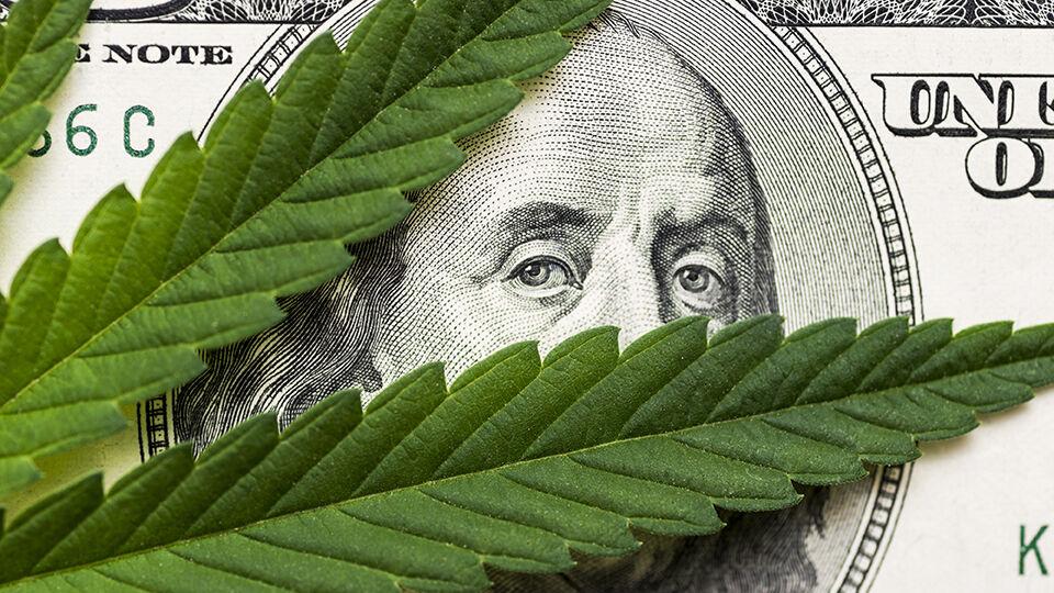 Money and marijuana.