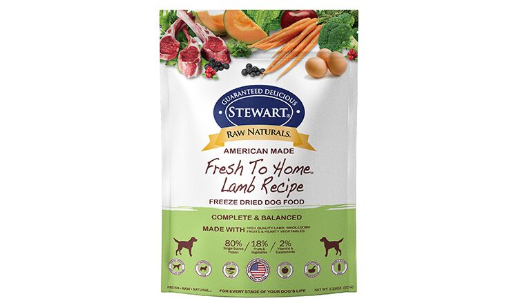 FR2 MiracleCorp-Stewart® Raw Naturals Freeze Dried Lamb Recipe (Front).png