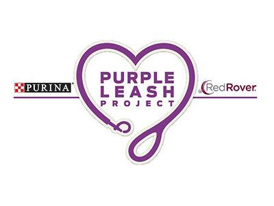 Purina-RedRover-Purple Leash Project