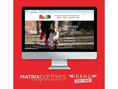 Matrix Partners Wins Gold Hermes Creative Award