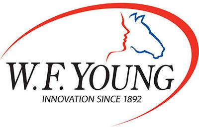w.f. young logo