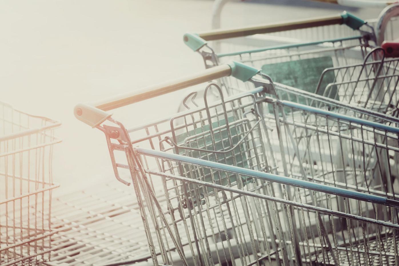 shopping cart stock