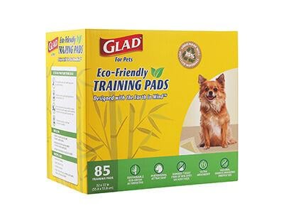 Glad For Pets Eco-Friendly Training Pads