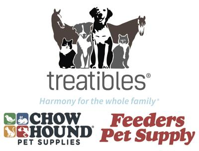 Treatibles, Chow Hound, Feeders collective logo