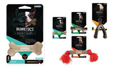 Caitec, Pet Food Experts, HERO Bonetics chews