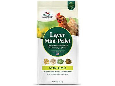 Manna Pro Layer Mini-Pellet Non-GMO
