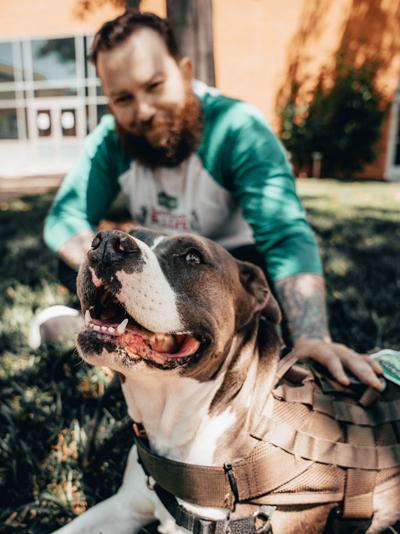 Purina Dog Chow - Service Dog Salute Image