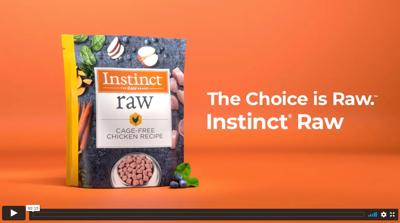 Instinct Pet Food, raw campaign