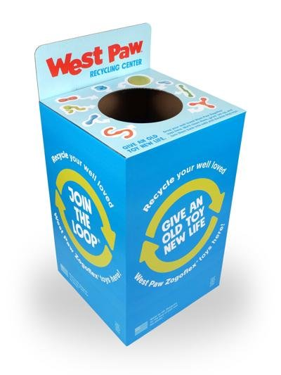 West Paw, recycling collection bin