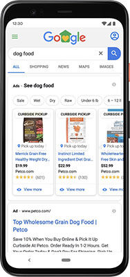 How Petco Is Using Google to Highlight Products Available for Pickup