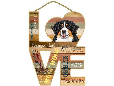 Love Dog Breed Plaques