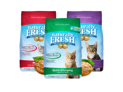 Eco Shell Takes Ownership of Naturally Fresh Cat Litter from Blue Buffalo